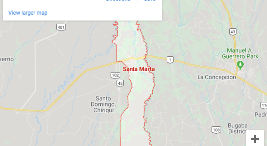 finca santa mata organic farm map location